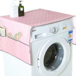 Waterproof Dust Cover With Storage Bag For Kitchen Washing Machine Accessories Supplies