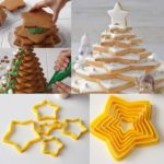 6pcs/set Cookies Cutter Frame Fondant Biscuits Cake Mould DIY Star Moulds Christmas Cookie Maker Cake decorating Tool