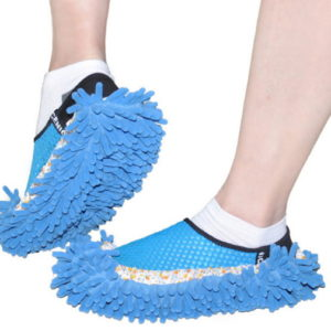 Novelty Slippers Style Mops Sock Floor ground Cleaning tools Microfiber