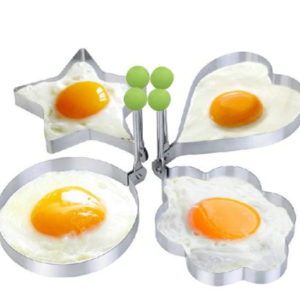 1pc Stainless Steel Pancake Mold Fried Egg Shaper Cake Tools