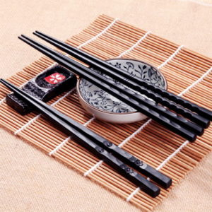 1Pair Hot High Quality Portable Sushi Chop Sticks Chinese Chopstick